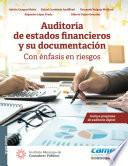 Cover Art Auditoría de estados financieros y su documentación: con énfasis en riesgos